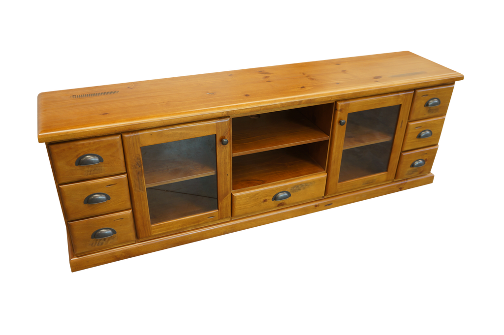 Stockade entertainment unit 2000mm brisbanefurniture for Affordable furniture brisbane