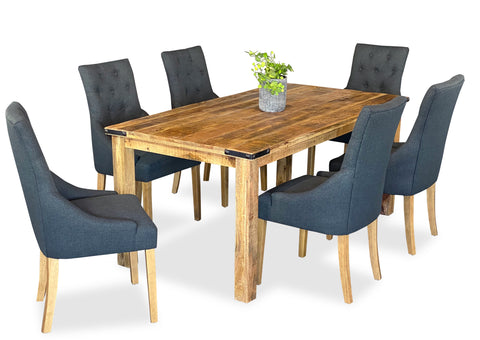 Forge & Scoop Back Dining Suite