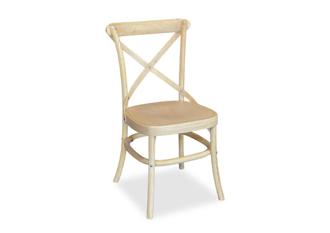 Byron Bay Cross Back Chair - Blonde