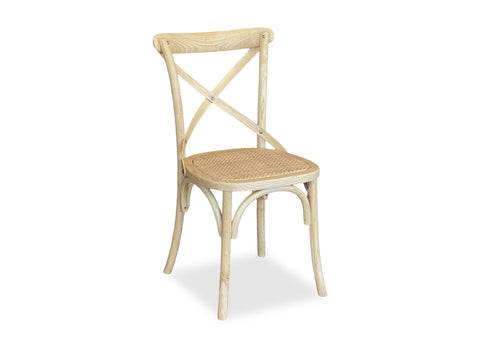 Cross Back Chair - Blonde