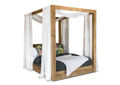 Plantation 4 Poster Canopy Bed (King)