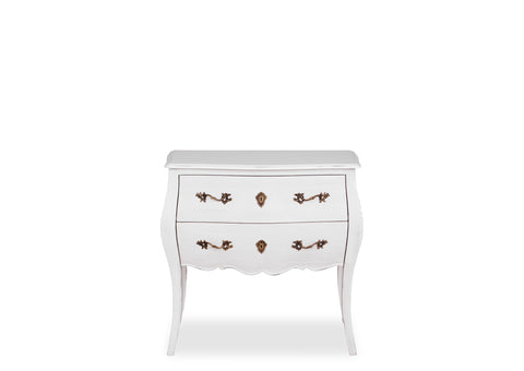 Belle Chest (800mm) - White
