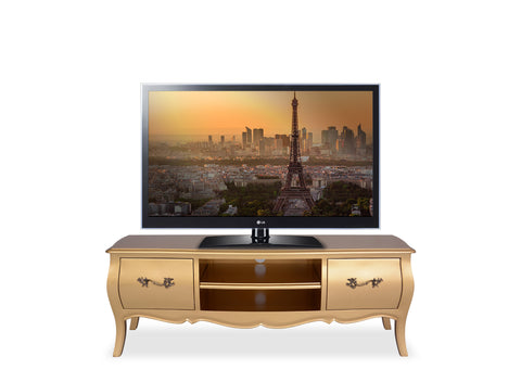 Belle Entertainment Unit (1200mm) - Gold