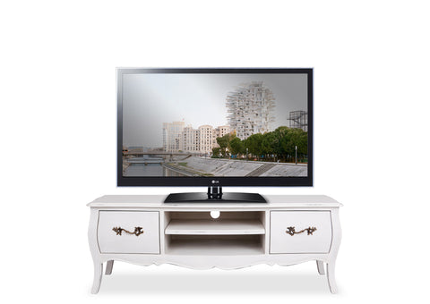 Belle Entertainment Unit (1200mm) - White