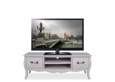 Belle Entertainment Unit (1200mm) - Light Grey
