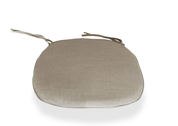 Cross Back Chair Cushion - Beige