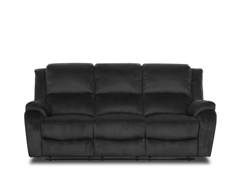 Nova Lounge (3 Seater) - Black