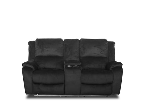 Nova Lounge (2 Seater) - Black