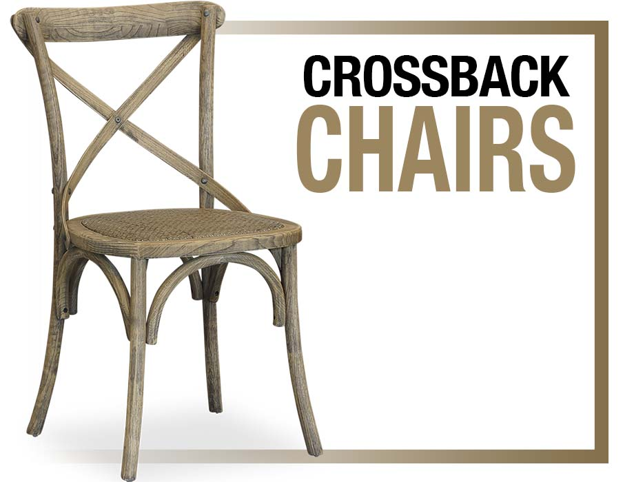 Cross Back Chairs, Brisbane Furniture