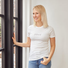 Load image into Gallery viewer, Balanced Unisex White Tee