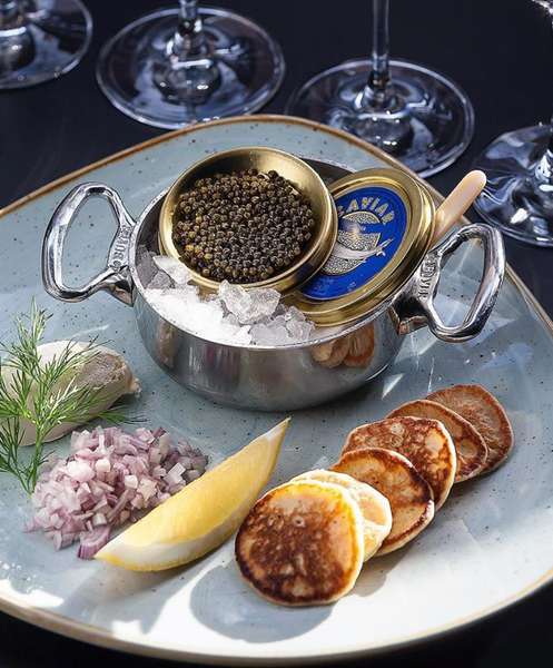 CAVIAR IS THE WORLD'S MOST EXPENSIVE FOOD!