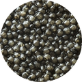 kaluga premium caviar eggs close