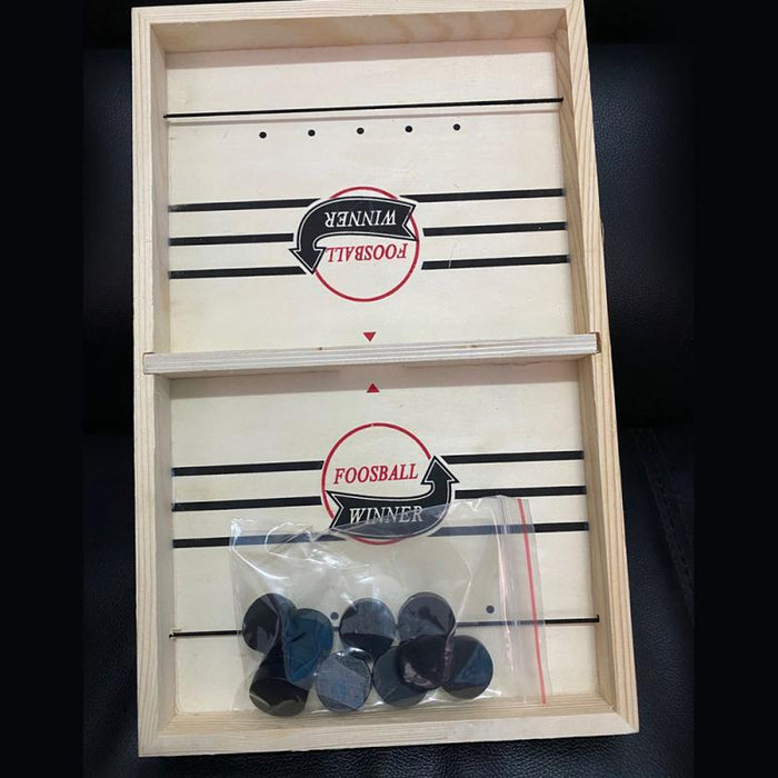 Table Hockey Sling Puck Game