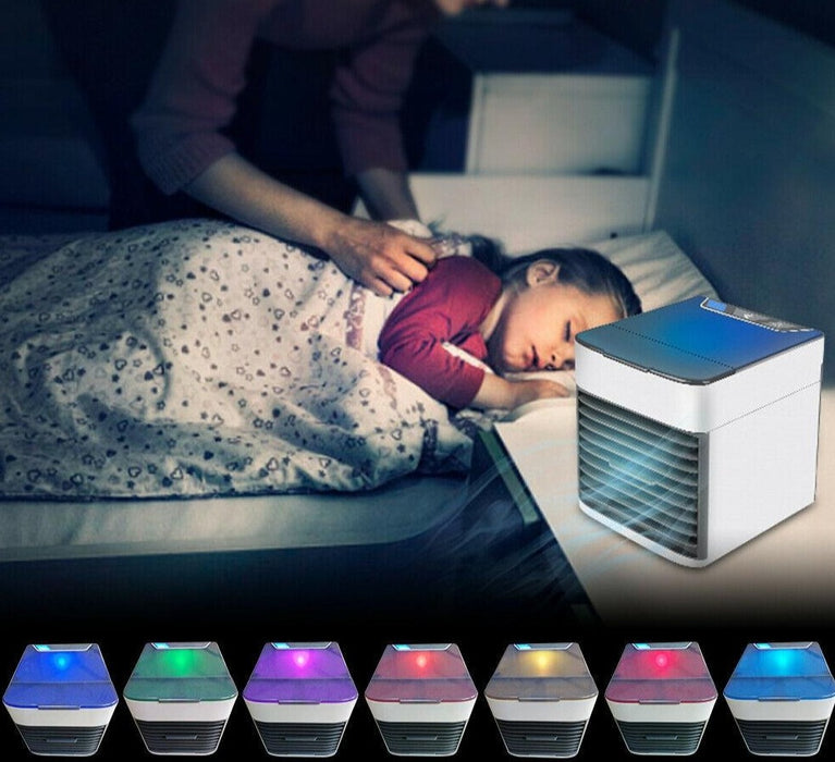 Mini Portable Air Conditioner Humidifier and Purifier