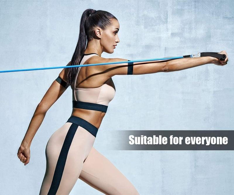 Workout Resistance Bands Set