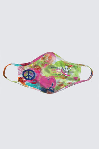 Washable face mask, Florida Breast Cancer Foundation ~ Pre-order (available September 28th)