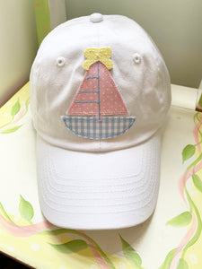 Sailboat Hat in youth or adult