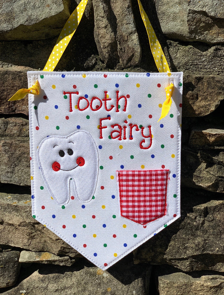 Tooth Fairy Boy Banner