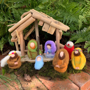 Small Felt Nativity Set