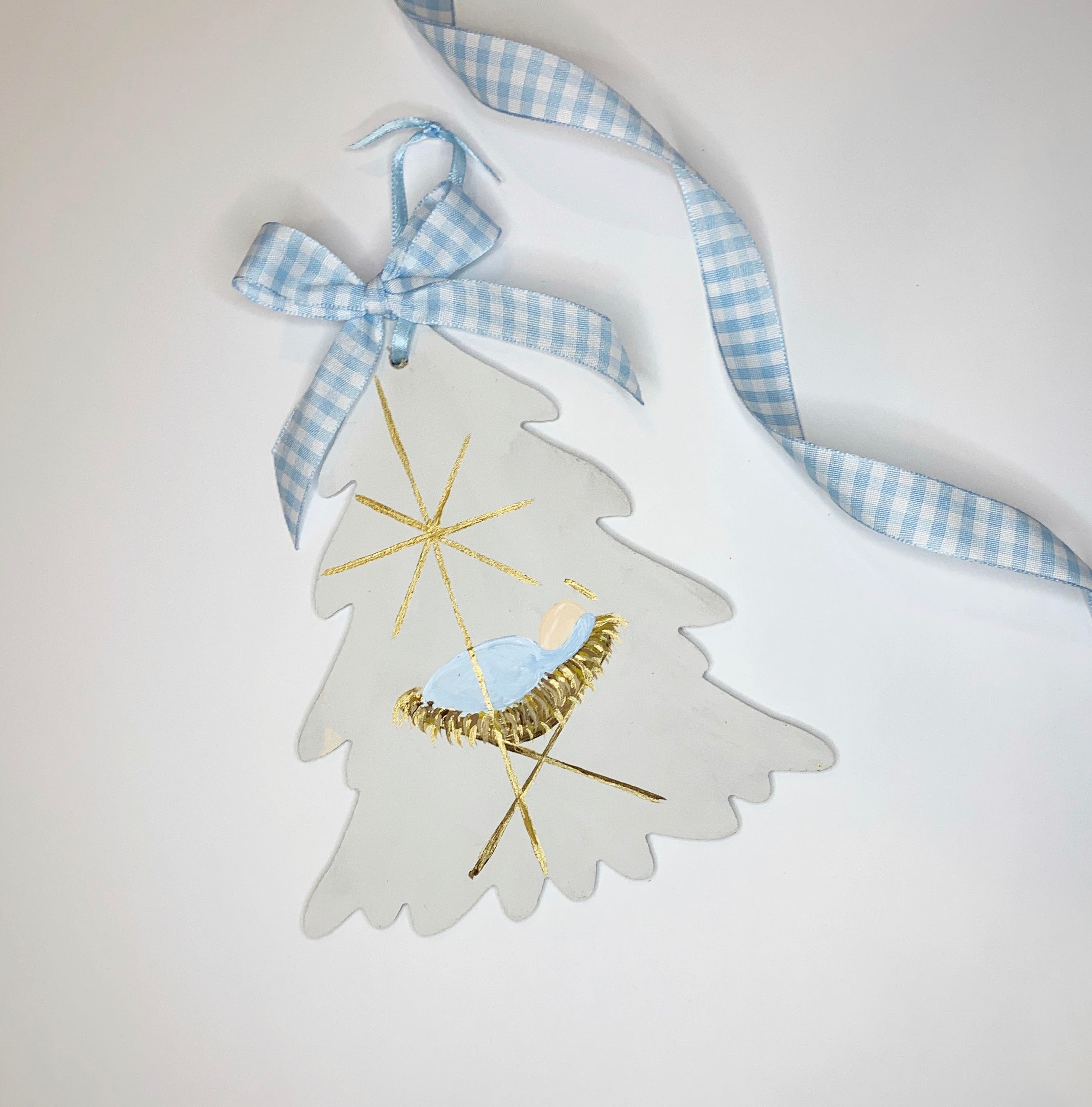 Baby Jesus Christmas Tree Ornament