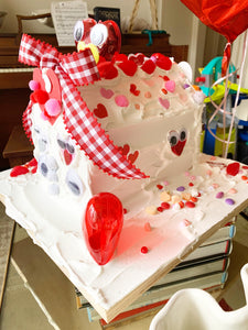 Valentine Gingerbread house