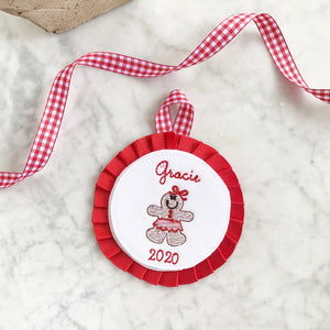 Ginghambread Ornament