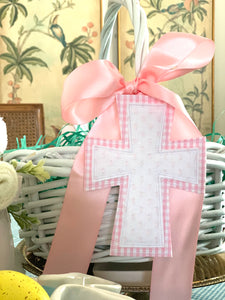 Cross Easter Basket Tag