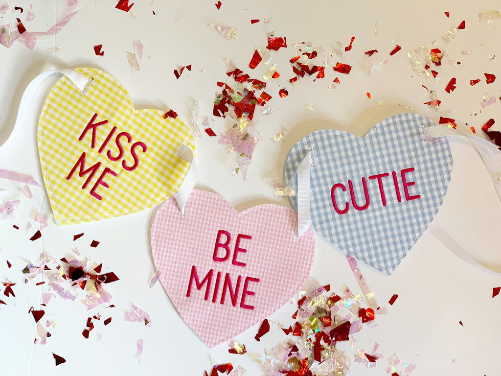 Be Mine Valentine Candy Banner