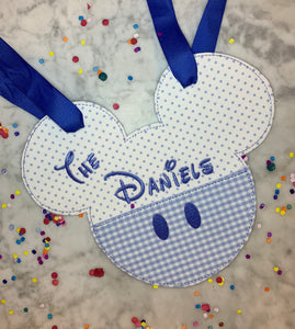 Magical Dot Stroller Tag