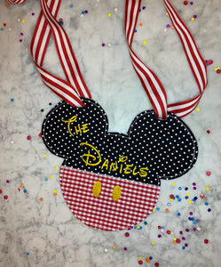 Classic Magical Ears Stroller Tag