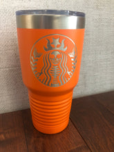 Load image into Gallery viewer, Skele-Starbucks 30oz Tumbler