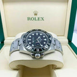 Rolex Ceramic GMT Master II Stainless Steel Watch 40MM Ref 116710 Scrambled