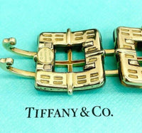 Original Tiffany and Co. Italian Hardstone Biscayne 18K Yellow Gold Bracelet