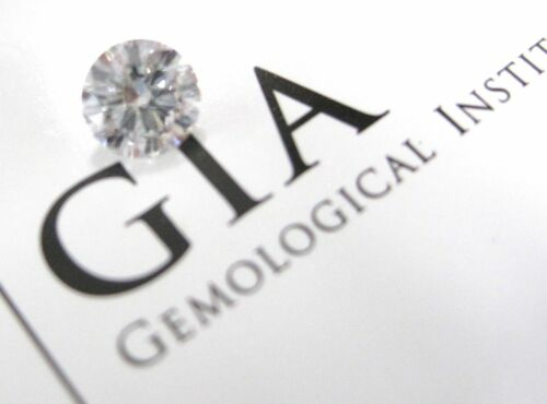 Gia Certified 1.02 Carats D-if Round Brilliant Loose Diamond