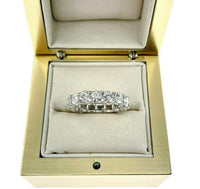 3.90 Carats t.w. Diamond Eternity Ring 14 Karat Gold 0.25 Carat Each Diamond New