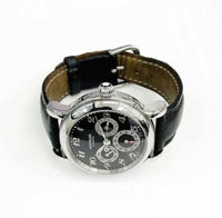 Montblanc Meisterstück Dual Time GMT Full Calendar Stainless Steel 7018 38mm