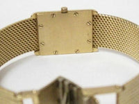 Vintage Concord Women's Gold Watch 18k Yellow Gold Analog Dress Battery