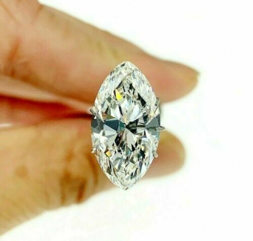 Loose GIA Diamond - Splendid 5.01 Carats Marquise Brilliant Cut G Color VS2