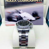 Rolex 40MM Daytona Stainless Watch Ref # 116520 Z Engraved Serial Box Papers