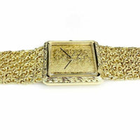 "Vintage Longines "" Macho"" Solid 18 Karat Yellow Gold Watch 3.69 Ounces"