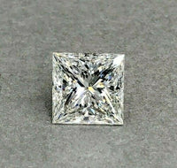 Loose GIA Diamond - Large 5.02 Carats GIA Princess Cut H VS2 Diamond Ex Ex Cut
