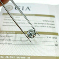 Loose GIA Diamond 2.31 Carats GIA Old European Cut Diamond GIA Certified L SI1
