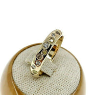 0.98 Carats t.w. Fine Jewelry Fancy Color and White Diamond Bezel Ring 14K Gold