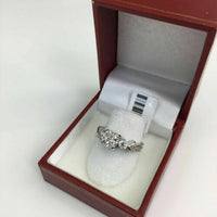 1.47 Carats t.w. Diamond Wedding/Engagement Ring EGL USA 1.11 Center Diamond 14K