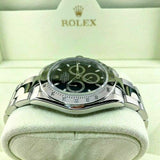 Rolex 40MM Daytona Stainless Steel Watch Ref # 116520 D Serial Box Papers