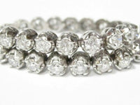 8.55 TCW Round Brilliant Cut Diamond Tennis Bracelet G-H VS2-SI1 7.5 Inches 14k