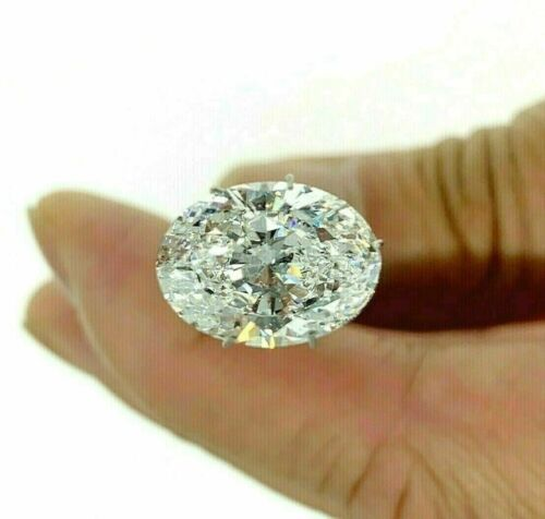 Loose GIA Diamond - Superb 6.00 Carats Oval Brilliant Cut D Color VS2 Ex Ex Cut
