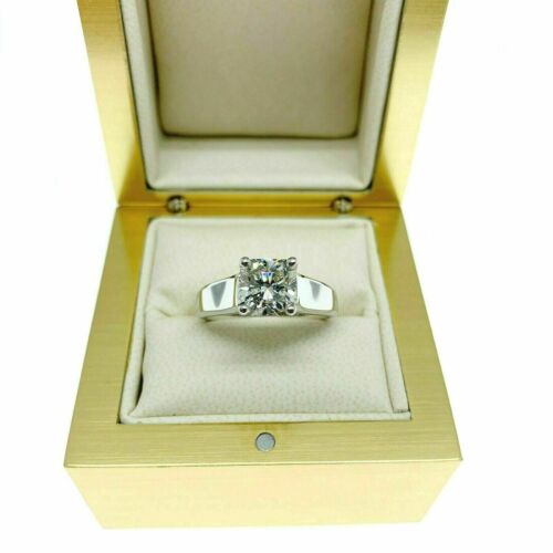 1.94 Carats AGS Square Radiant Diamond Scott Kay Solitaire Engagement Ring Plat