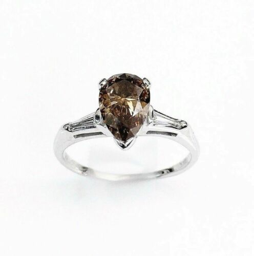 1.15 Cttw. Diamond Wedding/Anniversary 14K Ring Natural Fancy Brown/Cognac Color