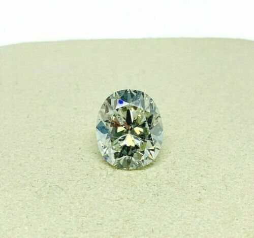 Loose Diamond AGS Diamond - 3.89 Carats Old Cushion Brilliant Cut Diamond K SI2